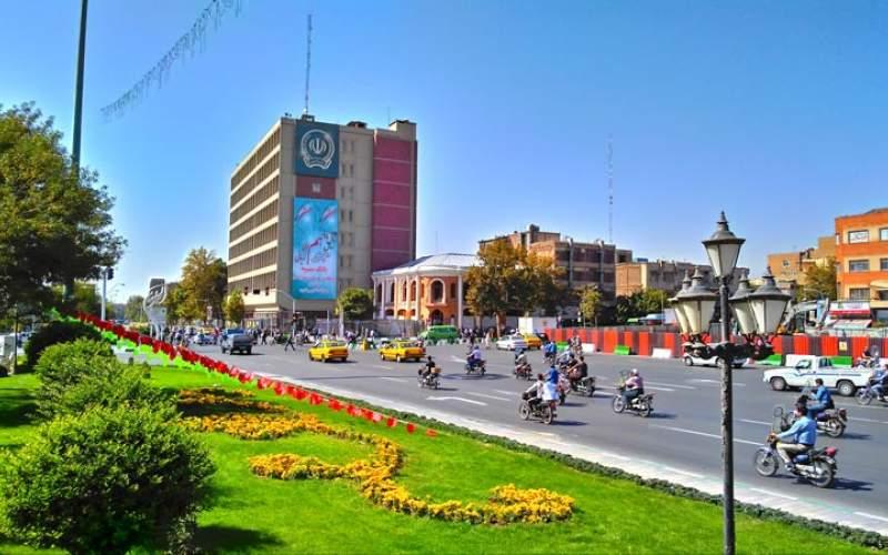 10خیابان شهر تهران در صف کاملشدن