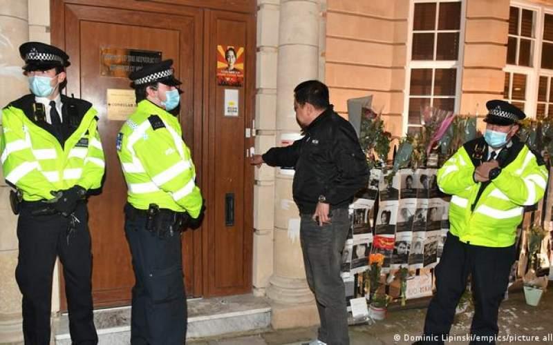 سفیر منتقد از ورود به سفارت میانمارمنع شد