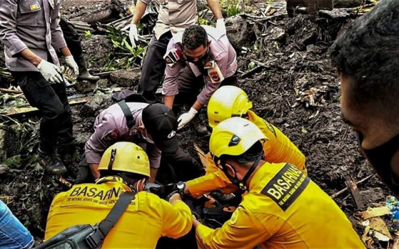 افزایش تلفات وقوع طوفان در اندونزی