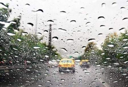 بارش باران و وزش باد عصرگاهی در تهران