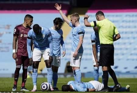 شکست خانگی منچسترسیتی در لیگ برتر