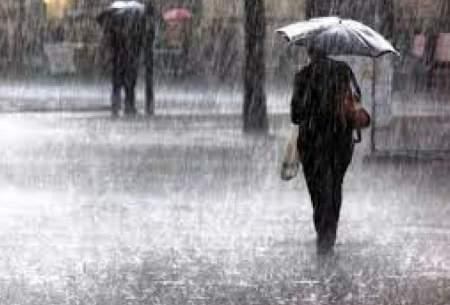باد و باران در ۲۷ استان طی امروز