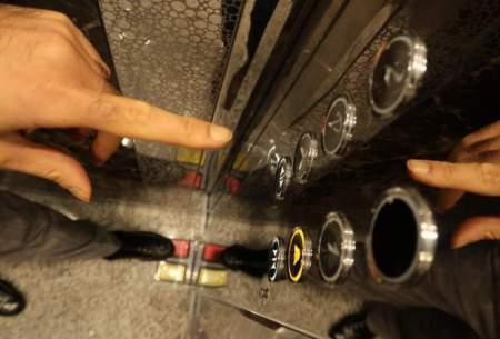 راه جلوگیری از انتقال بیماری با کلید آسانسور