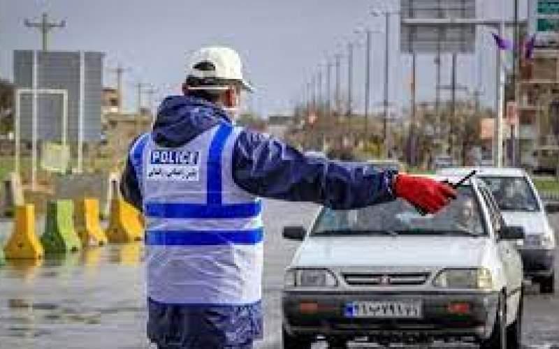 وضعیت تردد خودروهای پلاک شهرستانی در تهران