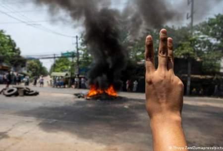 کودتاچیان میانمارحمام خون به راه انداختند