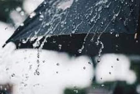 تداوم بارش باران در برخی استانها تا پایان هفته