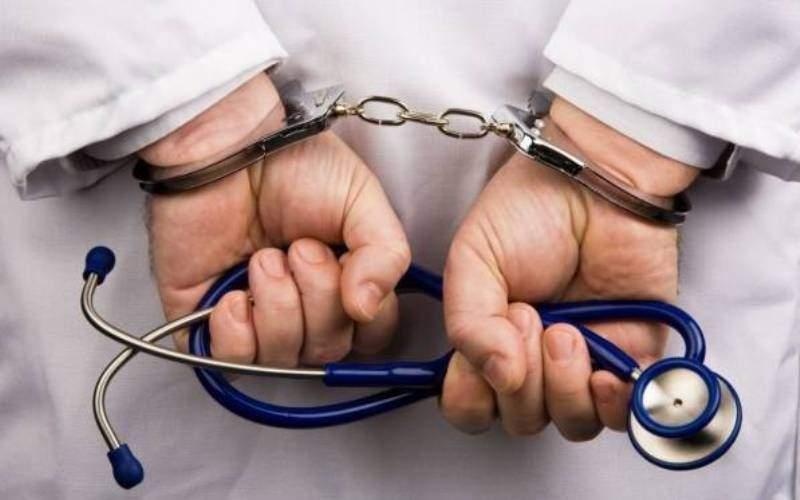 دستگیری دندانپزشک مسلحدرحال مصرف شیشه