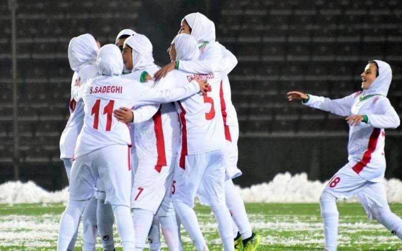 فوتبال ملی زنان و سقوط به لیگ یک
