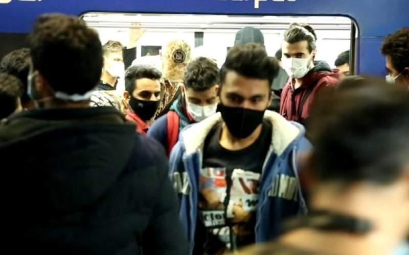 سهم مترو تهران در انتقال ویروس کرونا