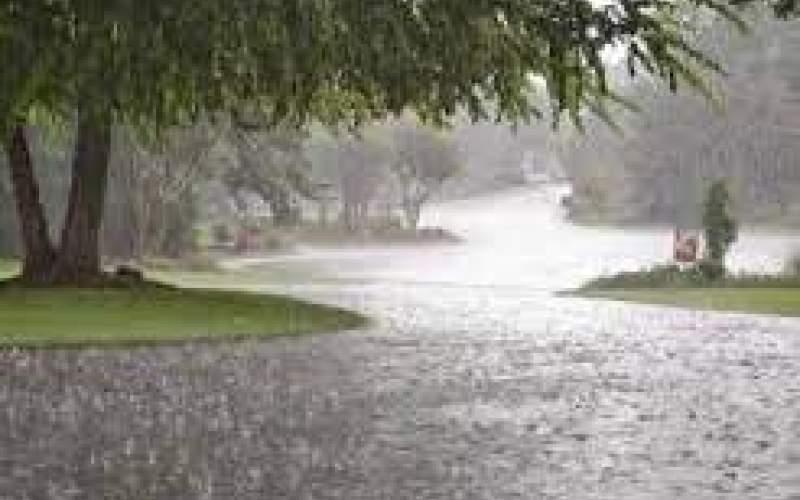 رگبار باران و وزش باد در بیشتر مناطق کشور
