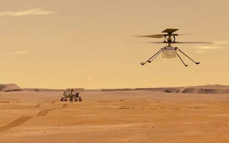 پرواز هلیکوپتر روی سطح مریخ به تعویق افتاد