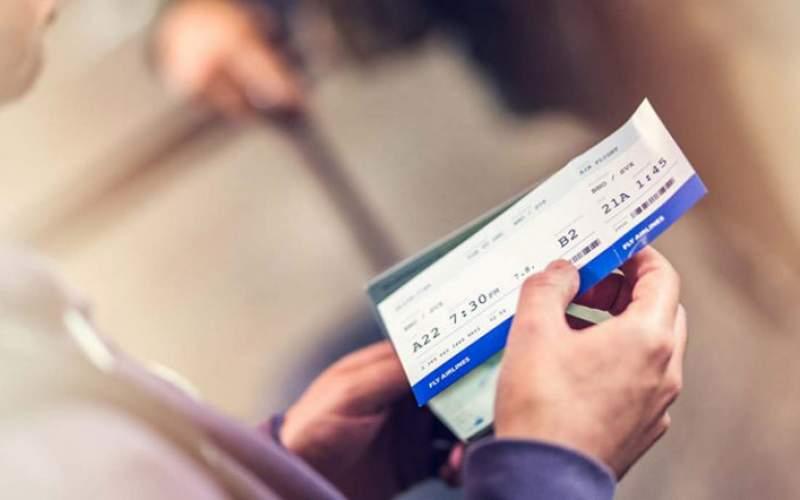 بلیت هواپیما تهران و کیش ۵۰ هزار تومان