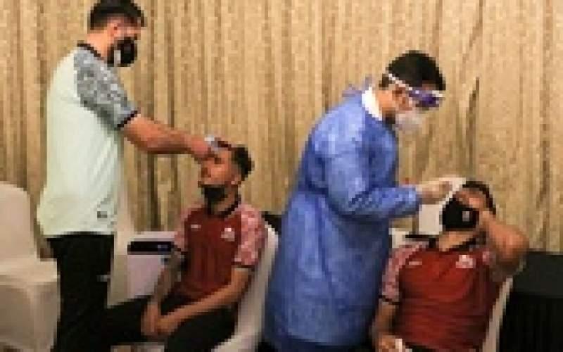 تراکتوری ها در امارات تست کرونا دادند