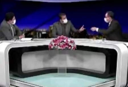 بحث تند مجری شبکه دو با مهمان برنامه