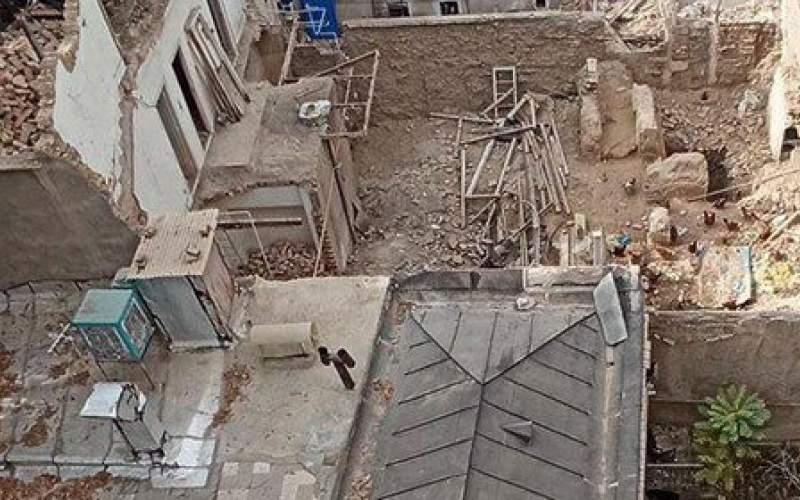 خانه «سرلشگر ضرابی» تخریب شد