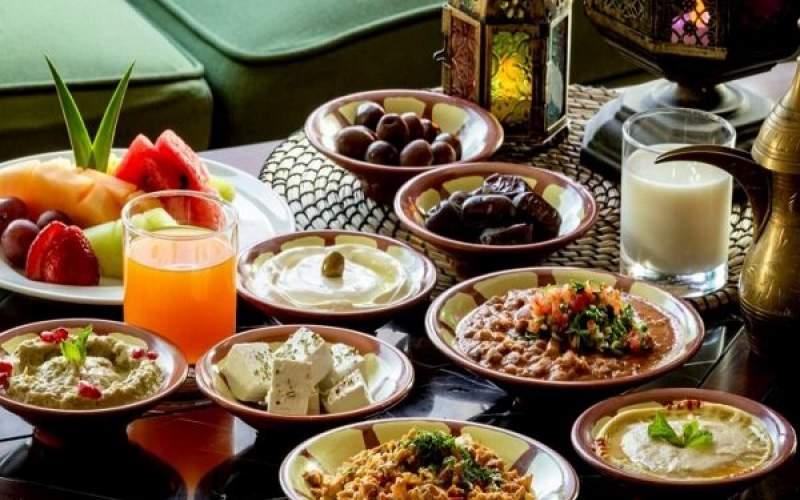افطار تا سحر چه غذاهایی بخوریم