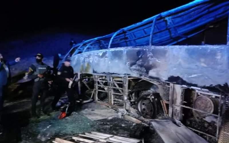 واژگونی اتوبوس در مصر ۲۰ کشته برجا گذاشت