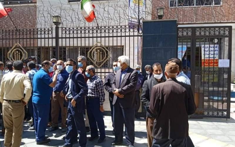 تجمع بازنشستگان تامین اجتماعی در چند استان