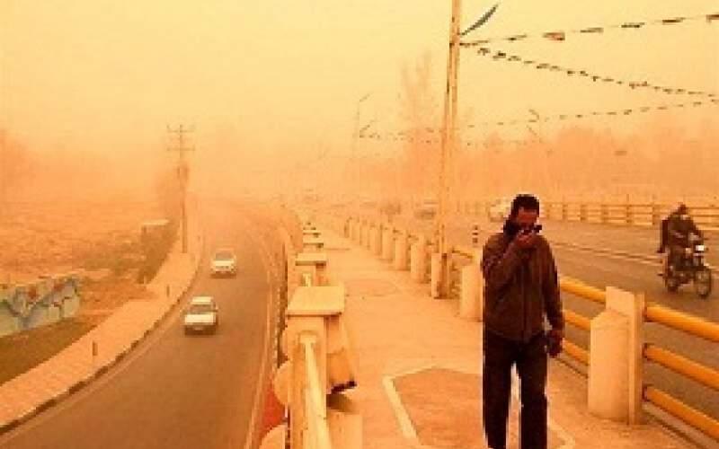 احتمال گرد و خاکی شدن خوزستان