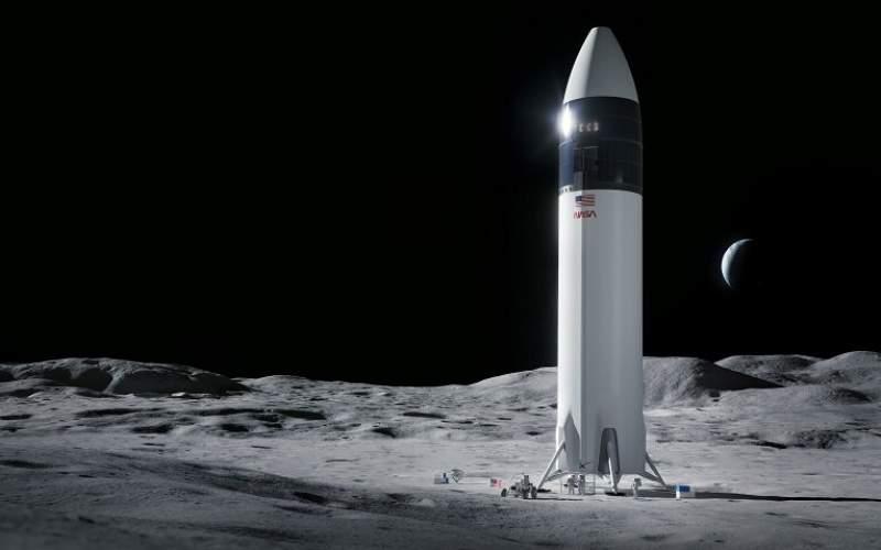 پیروزی اسپیسایکس در مناقصه سفر به ماه ناسا
