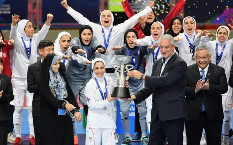 پاداش تیم ملی فوتسال زنان پرداخت شد