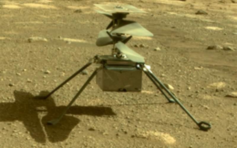 پرواز بالگرد مریخی نبوغ فردا انجام خواهد شد