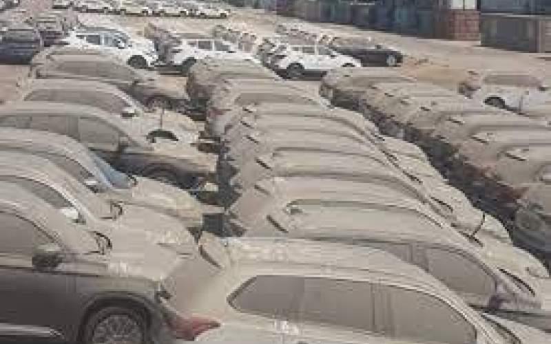 هنوز ۲۱۰۰ خودرو در گمرکها مانده اند