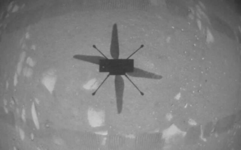پرواز تاریخی بالگرد نبوغ در سیاره سرخ انجام شد