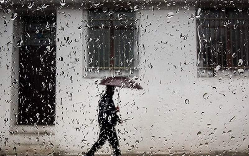 رگبار باران در برخی مناطق کشور