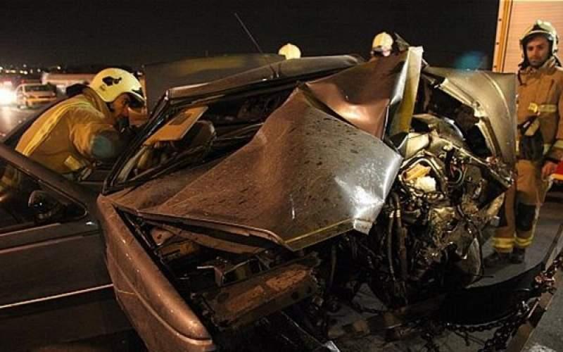 تصادف مرگبار بامدادی با ۶ کشته و مصدوم