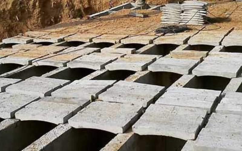 قبرهای۴طبقه پیشساخته دربهشت زهرا/تصاویر