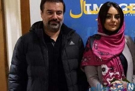 عکسی تازه از پیمان قاسمخانی و همسرش