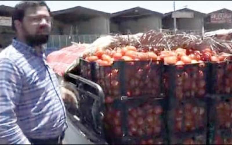 تفاوت ۷۰برابری قیمت گوجه داخل با خارج!