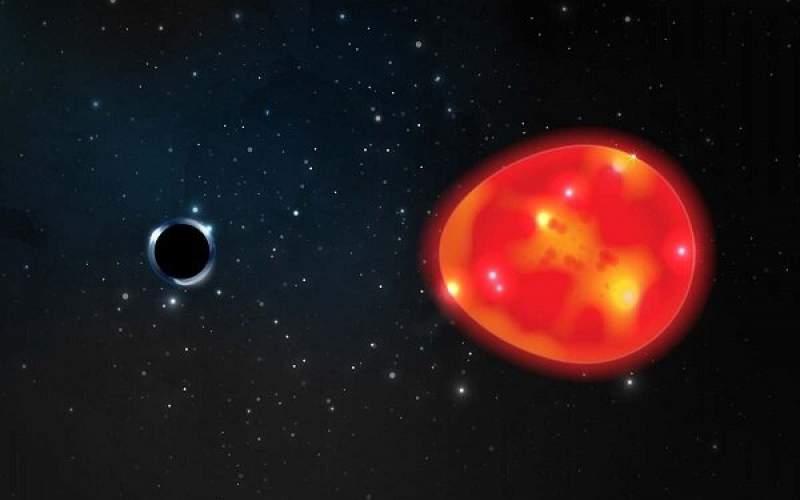 شناسایی کوچکترین  سیاه چاله به زمین