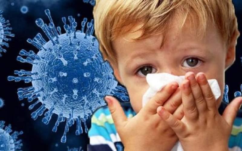 شیوع علائم کرونا در بین کودکان آسیب پذیر