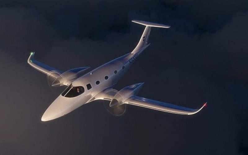 تولید هواپیمای برقی هشت نفره با برد ۹۲۰کیلومتر