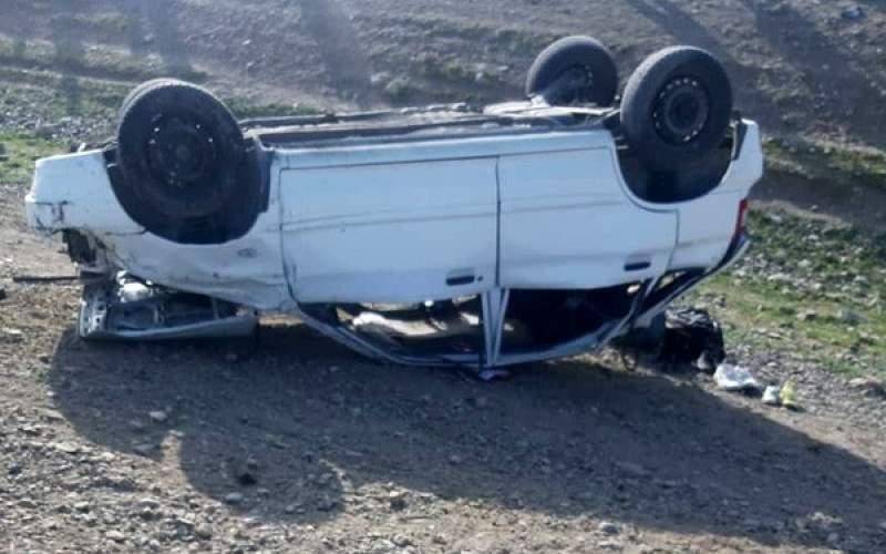 سانحه رانندگی در کنگاور با 2 کشته و 3 زخمی