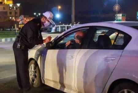 جریمه ۶۲۰هزار خودرو در ساعات منع تردد شبانه