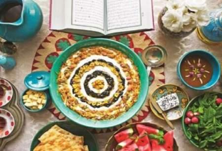 خوراکیهای مناسب هضم غذا در ماه رمضان