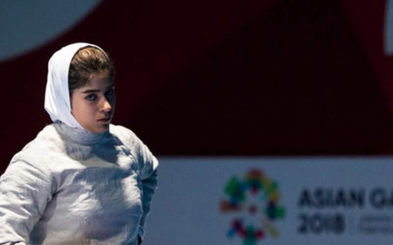 سابر دختران به سهمیه المپیک نرسید