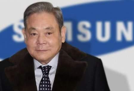۱۱ میلیارد دلار مالیات بر ارث مدیرسامسونگ