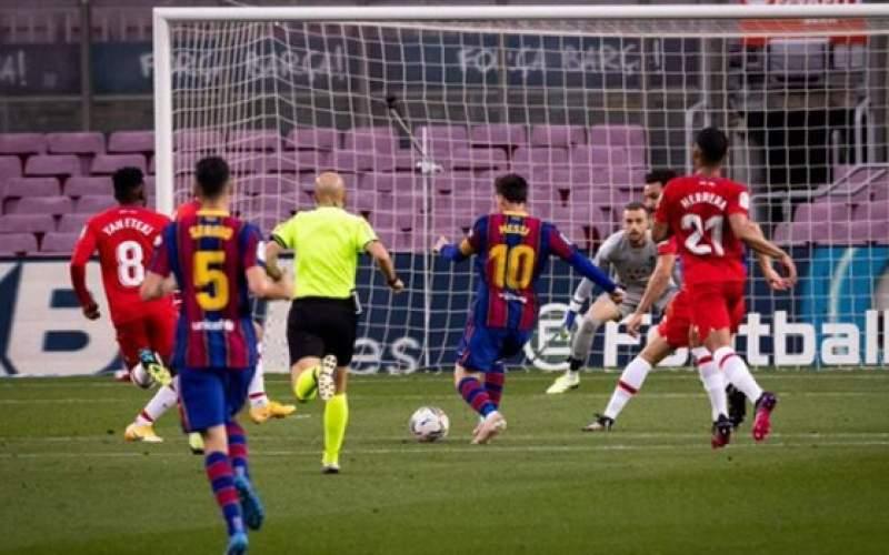 بارسلونا بهترین فرصت صدرنشینی را از دست داد
