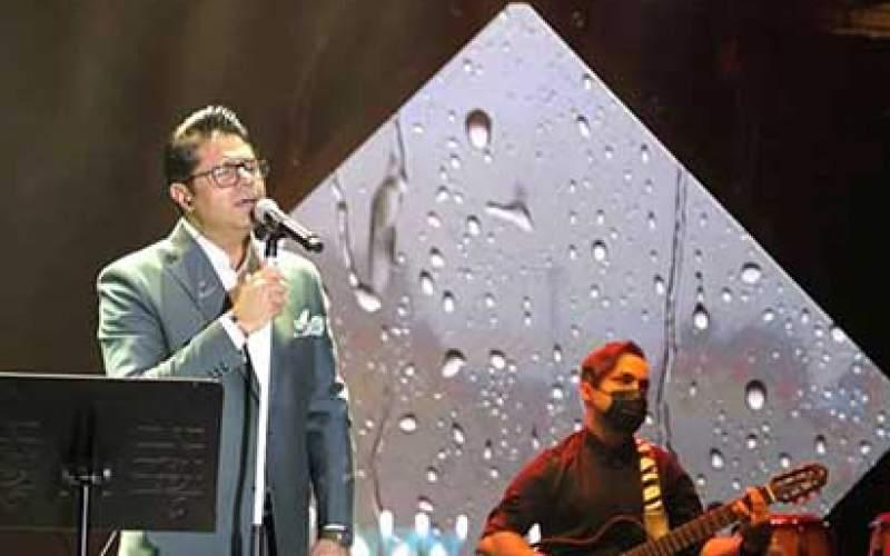 کنسرت آنلاین حجت اشرفزاده با ۸۶هزار مخاطب