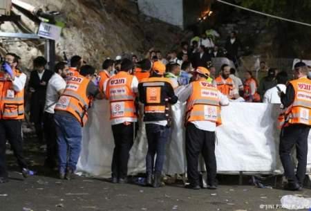 دهها کشته در یک مراسم مذهبی در اسرائیل