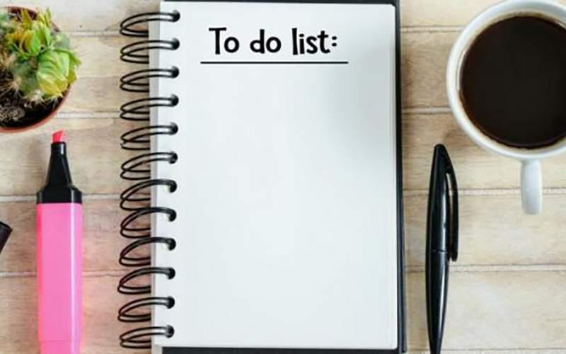 مدیریت زمان بهتر با استفاده از لیست وظایف
