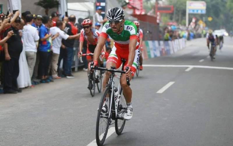 رکابزن گزینه اعزام به المپیک کرونا گرفت