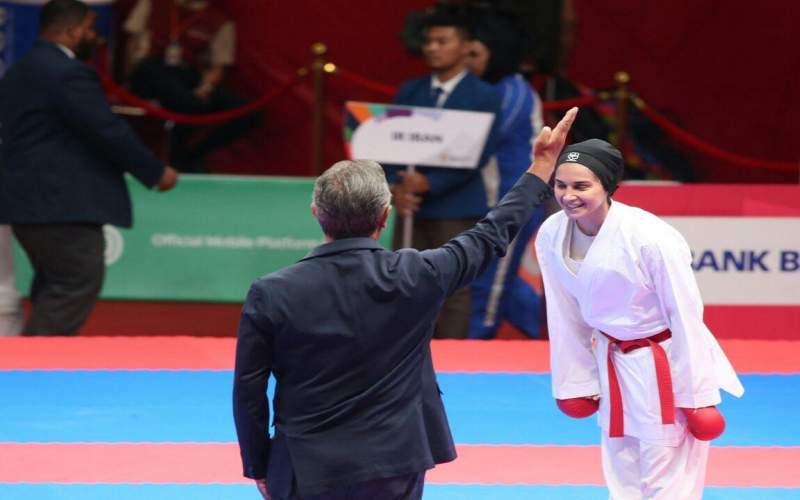 ملی پوش کاراته سهمیه المپیک را از دست داد