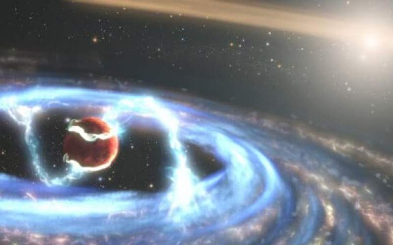 نگاه هابل به یک سیاره فراخورشیدی