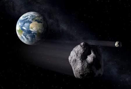 یک سیارک فرضی با زمین برخورد کرد