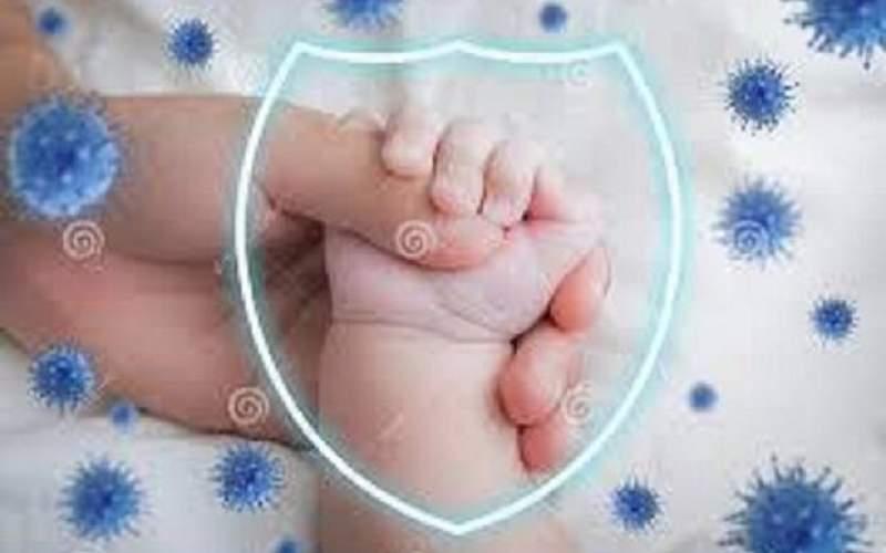 خطر احتمال انتقال کرونا از مادر به نوزاد کم است